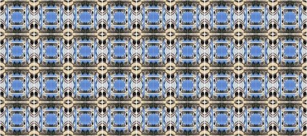 Muster 2, viele Kacheln